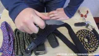 как сделать ремень из паракорда