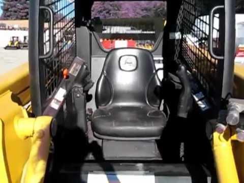 2006 JD  317 Skid Steer For Sale  YouTube