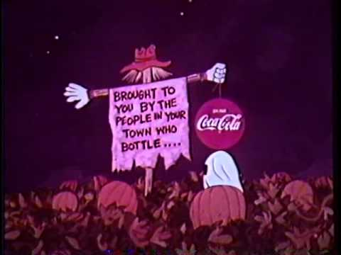 It's the Great Pumpkin Charlie Brown 1966 Coke sponsor open