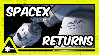 NASA SpaceX Dragon Crew Safely Return to Earth! (Nerdist News w/ Dan Casey)