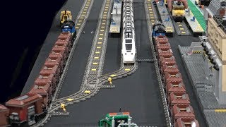 This LEGO train pulls 42 cars!