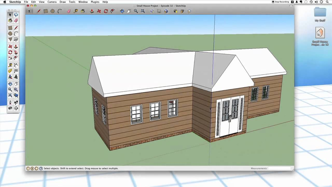 Sketchup 32 Roofing Youtube