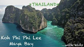 #32. Koh Phi Phi Lee - Maya Bay | Thailand 2017 | DJI MAVIC