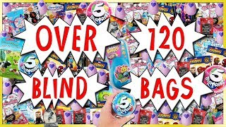 OVER 120 BLIND BAG OPENING!  Squishies, Hatchimals & MORE 2018 Compilation | Trusty Toy Channel