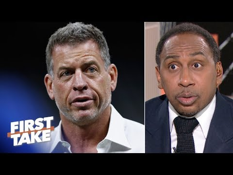 Troy Aikman isnt petty for responding to Patrick Mahomes comparisons  Stephen A. | First Take