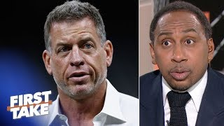 Troy Aikman isn't petty for responding to Patrick Mahomes comparisons - Stephen A. | First Take