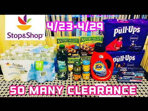 STOP AND SHOP COUPON DEALS HAUL (4/23-4/29)FREEBIE AND CHEAP DEALS 🔥 🔥😱 😱