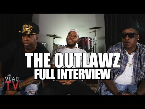 Outlawz on Reuniting, 2Pac Movie, Kadafis Death, Suge & Snoop Full Interview