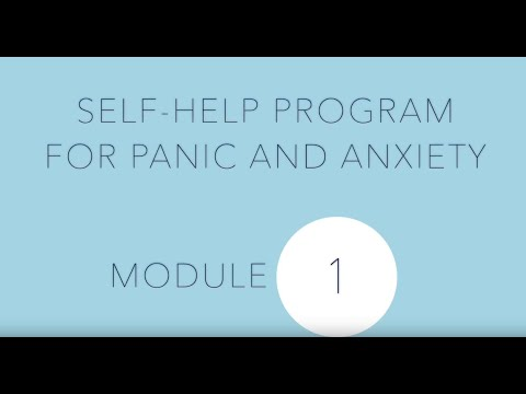 Self-help for panic and anxiety 1: Introduction