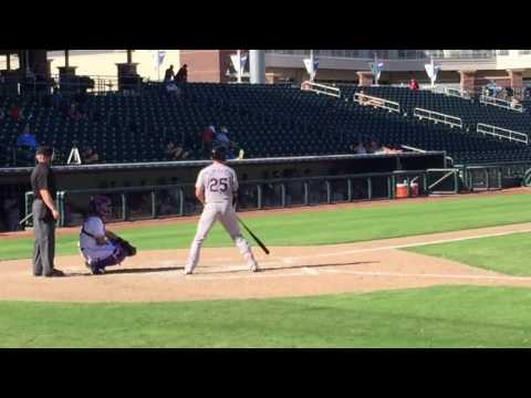 Ryan McMahon Base Knock Arizona Fall League