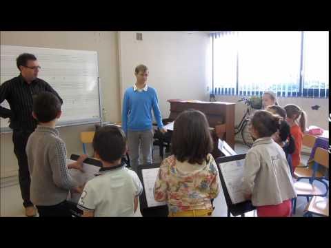 Classe Chantante de l'Ecole de Musique du Saumurois
