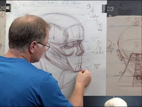 THE FIGURE: Head Structure #2 Know Your Proportions & Hit Your Landmarks