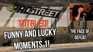 Funny And Lucky Moments - NFS Pro Street - Ep. 1