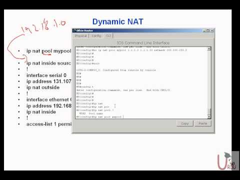 FREE URDU ICND II Lecture 20 Part 2 Configuring Dynamic NAT Travel Video
