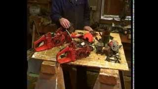 Husqvarna 350 rebuild part 1. Evaluate the piston, ring, crank and big end, fuel pipes, primer pump.
