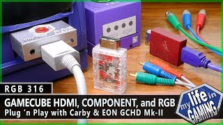 Nintendo GameCube HDMI, Component & RGB Plug 'n Play Solutions :: RGB316 / MY LIFE IN GAMING