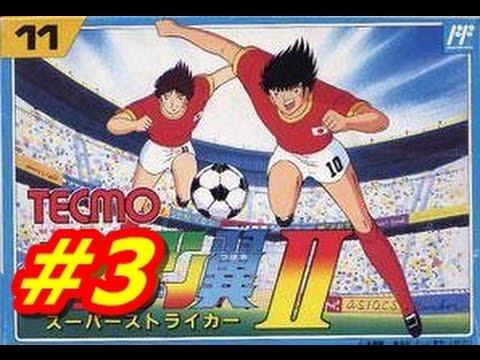 Captain Tsubasa 2 NES #3 Sao Paulo vs Gremio (English) HD