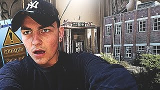 HORRIBLE ALARM SCARE Whilst Exploring Abandoned Military Base! (NOT CLICKBAIT)
