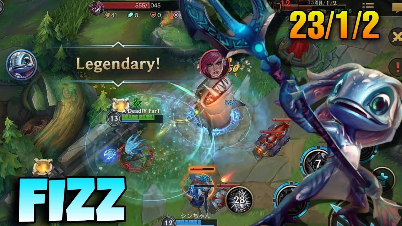 FIZZ - Mid & Carry Gameplay | League of Legends: Wild Rift
