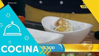 Recetas de cocina: Cómo hacer un Huevo Frito de Soei   Un Nuevo Día   Telemundo