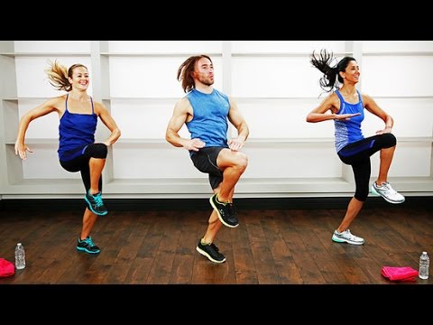 30-Minute No-Equipment Bodyweight Bootcamp Workout | Class FitSugar