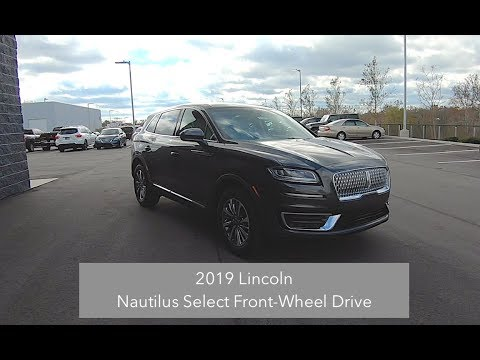 2019 Lincoln Nautilus Select Fwd Walk Around Video In Depth Review