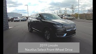 2019 Lincoln Nautilus Select FWD|Walk Around Video|In Depth Review|Test Drive