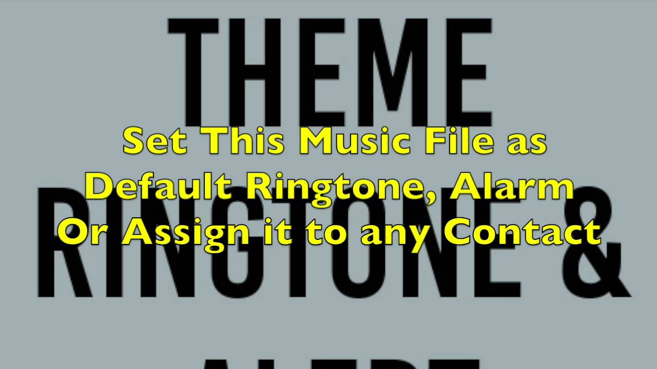 Justified Theme Ringtone And Alert Youtube