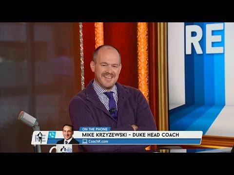 Duke Head Coach Mike Krzyzewski Talks NCAA Championship Win on The RE Show -4/8/15