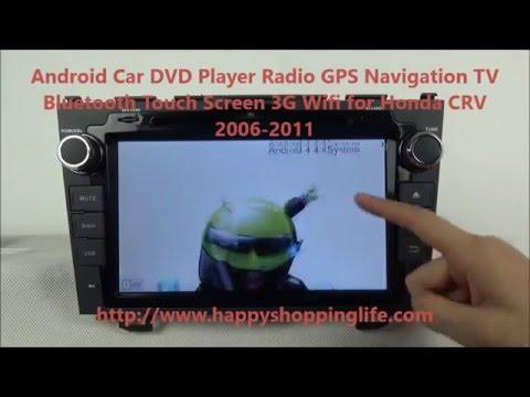 Honda CRV 2006-2011 Android Car DVD Player GPS Navigation Radio TV Wifi 3G