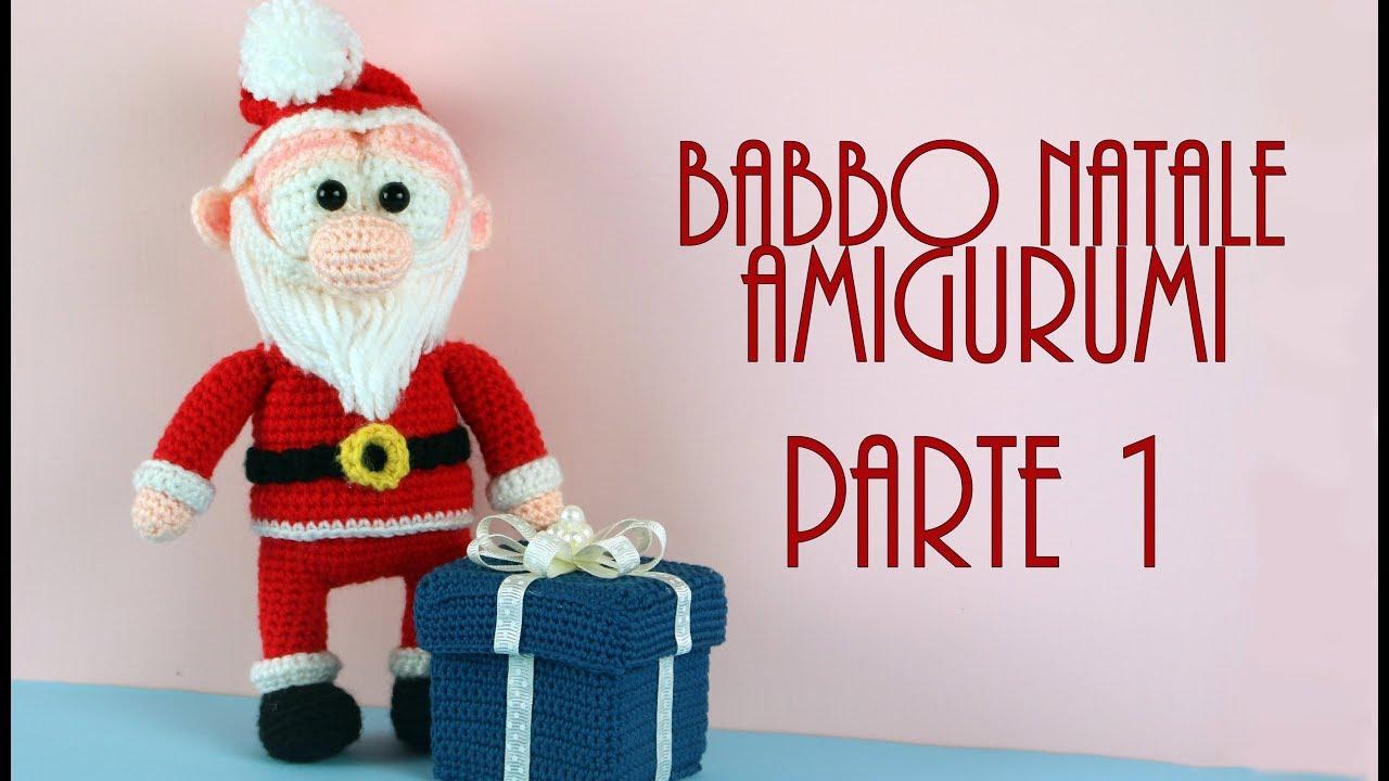 Amigurumi Natale.Babbo Natale Amigurumi World Of Amigurumi Parte 1 Youtube