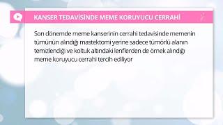 Meme kanseri nasıl tedavi edilir? - Prof. Dr. Metin Çakmakçı