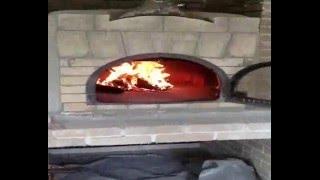 Печь для пиццы на дровах. Пицца в печи. Рецепт пиццы в помпейской печи.How to make pizza in oven(Дровяная печь для пиццы. Тест-драйв Другие наши работы можно найти на сайте http://печь-для-пиццы.com.ua/ http://kievkam..., 2013-07-19T14:11:35.000Z)