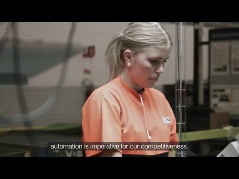 High production rate at IAC in Sweden thanks to robotic automation
