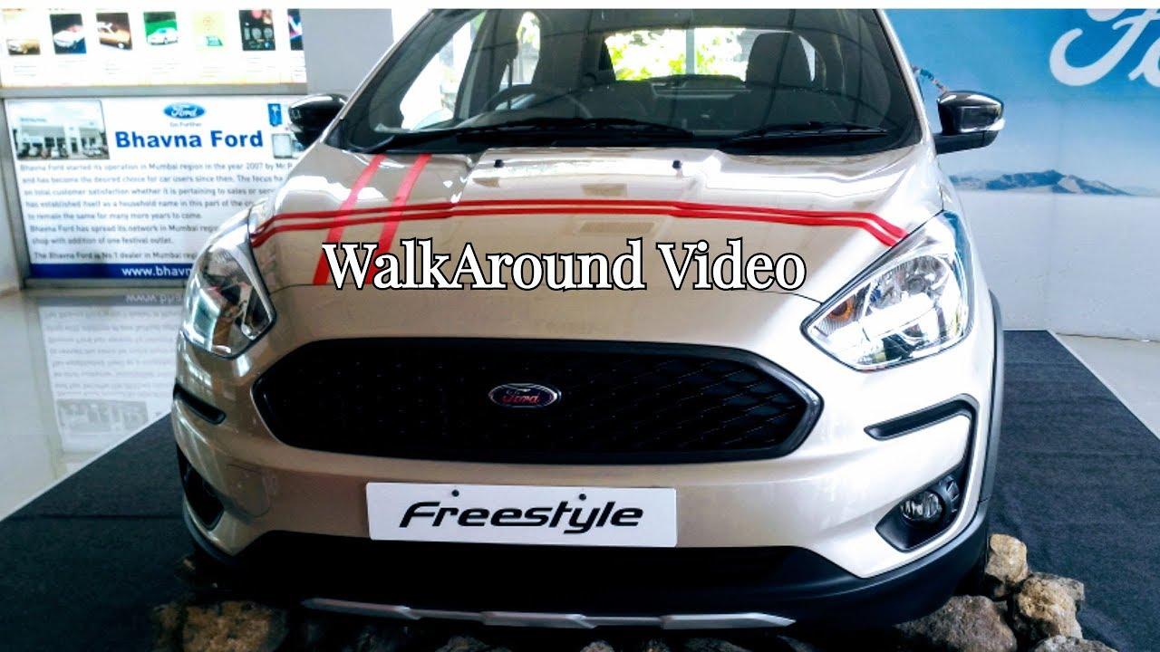 Ford Freestyle Cuv White Gold Titanium Plus Walkaround Video With