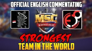 MUST WATCH! NO.1 INDONESIAN TEAMS SAINTS INSANE ML MSC FINAL GAMEPLAY AND TEAM STRATEGY