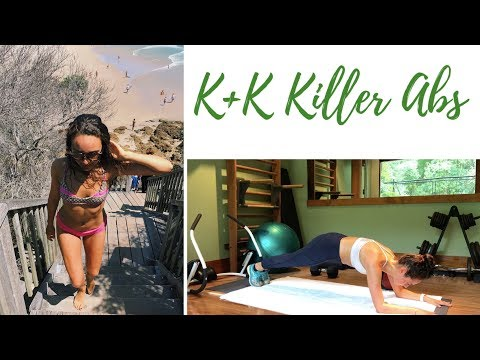 K&K KILLER ABS WORKOUT | No Crunches, Dorm Room Friendly, No Equipment Necessary