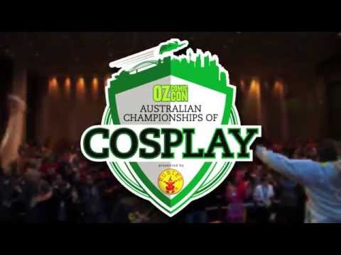 The Oz Comic-Con Championships Of Cosplay!