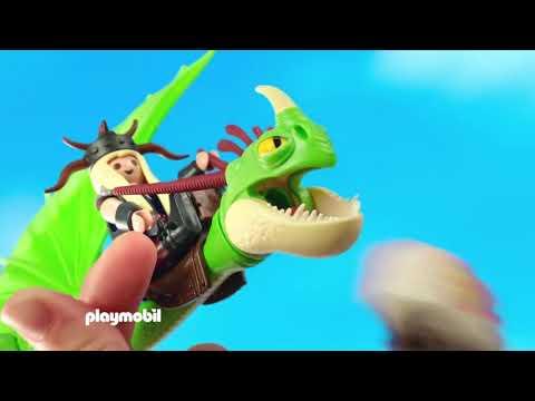 Playmobil Dragons Ο Μύξαρχος με τον Τσιγκελοδόντη