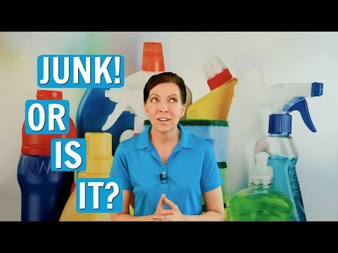 How Do You Know it's Junk? Decluttering and Organizing Tips