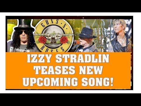 Guns N' Roses News:  Izzy Stradlin Teases New Song Walkin