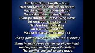 Sri Vidya Mantras Sri Amritananda   devipuram com