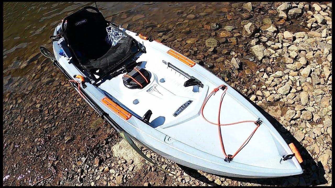 Заплыв и Обзор Каяка Lifetime Tamarack Pro 2021