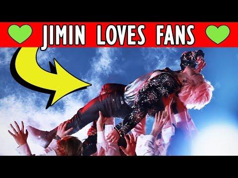 😍 HOW JIMIN LOVES FANS   Bangtan Boys BTS