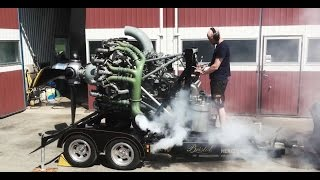 Bristol Hercules Radial Aircraft Engine Demonstration