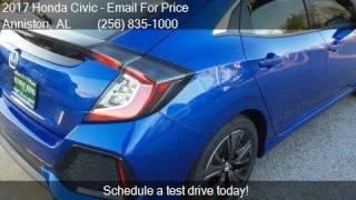 2017 Honda Civic EX 4dr Hatchback For Sale In Anniston, AL 3