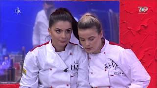 Hell's Kitchen Albania - Kristina & Marsela si dy motra siameze.Shefi u lidh floket me njëra-tjetrën