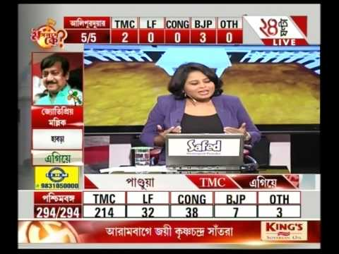 Bengal polls: Clean sweep for Trinamool Congress