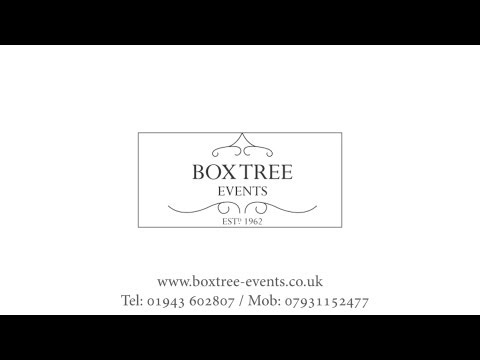 Events Hd Wedding Promotion Graphy Leeds Yorkshire Manchester York Box Tree Time Lapse