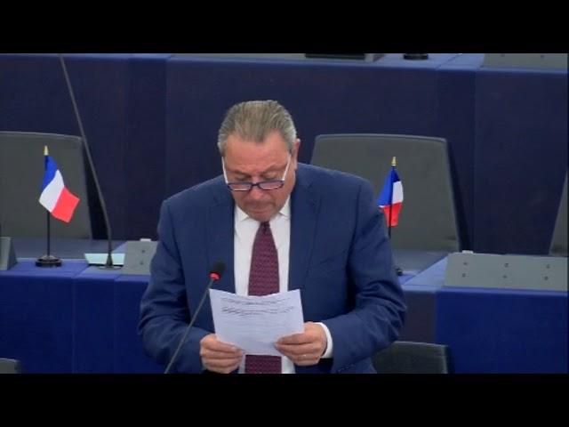 Jacques Colombier sur le programme de l'UE pour les régions rurales, montagneuses et isolées